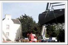 Transport  de cuves chaudronnerie en convoi exceptionnel